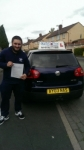 Tayyab Malik passed with Craig Polles Driver Training