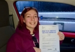 Tegan Hyett passed with Craig Polles Driver Training