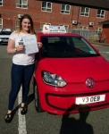Tia Forster passed with Craig Polles Driver Training