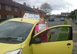 Tina Luke passed with Craig Polles Driver Training