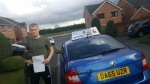 Tom Nicholls Burton passed with Craig Polles Driver Training