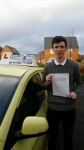Tom Pound passed with Craig Polles Driver Training