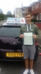 Tyler Whittingham passed with Craig Polles Driver Training