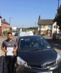 Umar Abrar Hussain passed with Craig Polles Driver Training