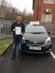Usnain Sajid passed with Craig Polles Driver Training