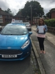 Vania Bravo passed with Craig Polles Driver Training