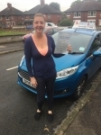 Vicky Curry passed with Craig Polles Driver Training
