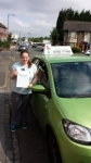 Vicky Ellis passed with Craig Polles Driver Training