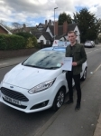 Will Latham passed with Craig Polles Driver Training