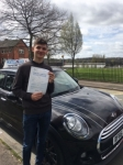 Will Stocking passed with Craig Polles Driver Training
