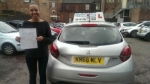 Yara Correia passed with Craig Polles Driver Training