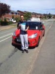 Zac Distant passed with Craig Polles Driver Training