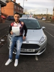 Zain Ahmed passed with Craig Polles Driver Training