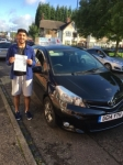 Zeshan Hanif passed with Craig Polles Driver Training