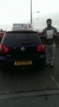 Ziaphat Ali passed with Craig Polles Driver Training