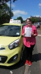 Zoe Hunt passed with Craig Polles Driver Training