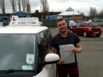 Richard cliffe passed with Craig Polles Driver Training