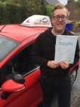 Sam Tyler passed with Driving Ambition