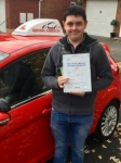 Sam Tennant passed with Driving Ambition