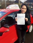 Angelica Sande passed with Driving Ambition