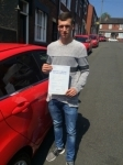 Jordan Smith passed with Driving Ambition
