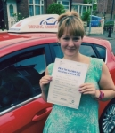 Clare Roberts passed with Driving Ambition