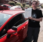 Dave Burrows passed with Driving Ambition
