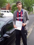 Dean Pickerel passed with Driving Ambition