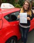 Joanna Wooton passed with Driving Ambition