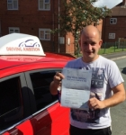 John Ward passed with Driving Ambition