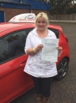 Kelly Buckley passed with Driving Ambition