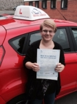 Lauren Stone passed with Driving Ambition