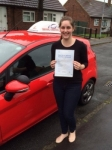 Lisa Taylor passed with Driving Ambition