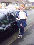 Megan Pancutt passed with Driving Ambition