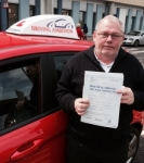 Michael Adkins passed with Driving Ambition