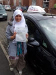 Nawfa Ali passed with Driving Ambition