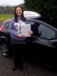 Rachael Shaw passed with Driving Ambition