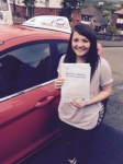 Robyn James passed with Driving Ambition