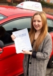 Stacey Wood passed with Driving Ambition