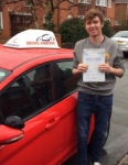 Thomas Waters passed with Driving Ambition
