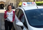 Sophie passed with Dan Joll Driver Training