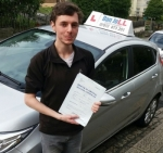 Tom passed with Dan Joll Driver Training