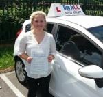 Chloe passed with Dan Joll Driver Training