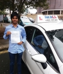 Abhijith passed with Dan Joll Driver Training