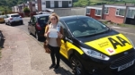 Melody passed with Dan Joll Driver Training