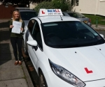 Jade passed with Dan Joll Driver Training