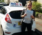 Charlotte passed with Dan Joll Driver Training