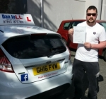 Phil passed with Dan Joll Driver Training