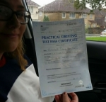 Beth passed with Dan Joll Driver Training