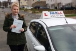 Paige passed with Dan Joll Driver Training